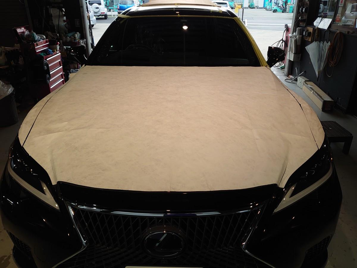 レクサス LS500h  新車コーティング