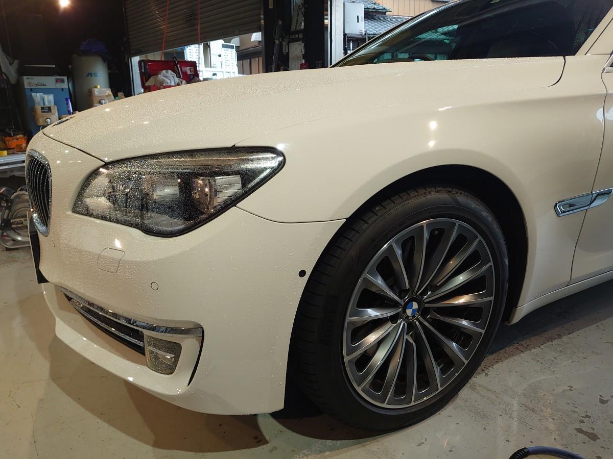 BMW セラミックスエアー施工